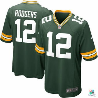 d88331c5c NFL Aaron Rodgers GB Packers Nike Game Jersey Draft Store