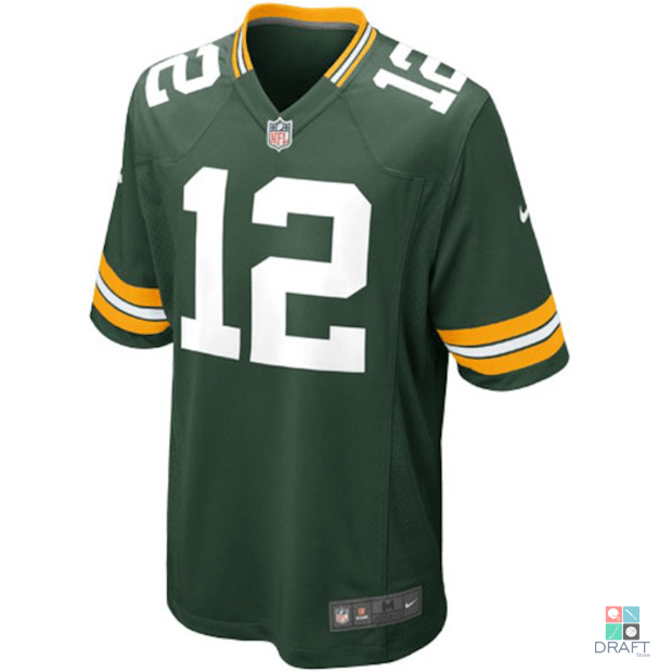 Camisa NFL Aaron Rodgers Green Bay Packers Nike Youth Game Jersey Draft  Store ... 3f94e18349162