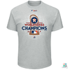 Camisa MLB Houston Astros Majestic Campeão 2017 World Series Draft Store