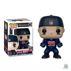 Boneco NFL JJ Watt Houston Texans Funko POP Figurine Draft Store