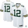 Camisa NFL Aaron Rodgers Green Bay Packers Nike Game Jersey - Away Draft Store