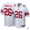 Camisa NFL New York Giants Saquon Barkley Nike Game Jersey - Away Draft Store