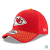 Boné NFL Kansas City Chiefs New Era Sideline 17 39THIRTY Draft Store