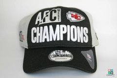 Boné Kansas City Chiefs New Era NFL Division Champ 9FORTY Draft Store