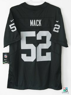Camisa NFL Khalil Mack Oakland Raiders Nike Youth Limited Vapor Untouchable Jersey Draft Store