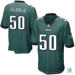 Camisa NFL Kiko Alonso Philadelphia Eagles Nike Youth Game Jersey Draft Store