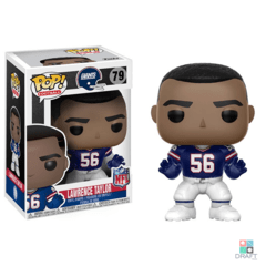 Boneco NFL Lawrence Taylor New York Giants Funko POP Figurine Draft Store