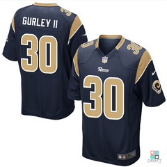 Camisa NFL Los Angeles Rams Todd Gurley Nike Youth Game Jersey Draft Store