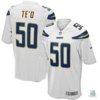 Camisa NFL Manti Te'o Los Angeles Chargers Nike Youth Game Jersey Draft Store