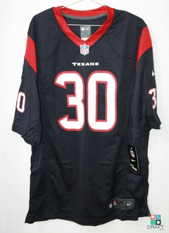 Camisa NFL Houston Texans Kevin Johnson Nike Game Jersey Draft Store
