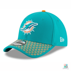 Boné NFL Miami Dolphins New Era Sideline 17 39THIRTY Draft Store