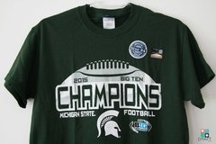 Camisa COLLEGE Blue 84 Michigan State Spartans Champions Draft Store