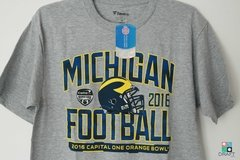 Camisa College Michigan Wolverines Orange Bowl Bound Playbook Draft Store