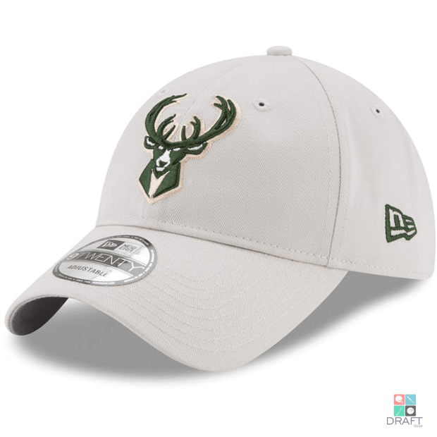 b05efeda7a0f3 Boné NBA Milwaukee Bucks New Era 9TWENTY Draft Store