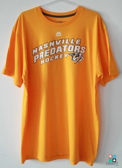Camisa Majestic NHL Nashville Predators Appeal Play Draft Store