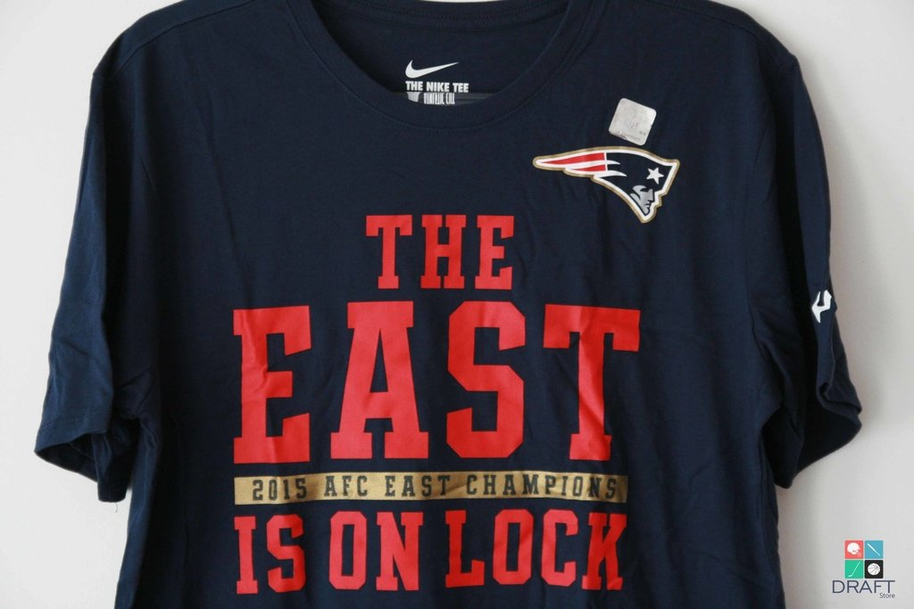 26a9b659 Camisa NFL Nike New England Patriots Division Champions