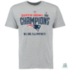 Camisa NFL Pro Line Trophy Collection New England Patriots SB49 Champions T-Shirt Draft Store