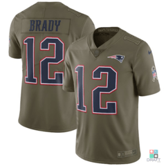 Camisa NFL Tom Brad New England Patriots Salute to Service Nike Limited Vapor Untouchable Jersey Draft Store