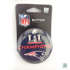 Broche New England Patriots WinCraft Super Bowl LI Draft Store