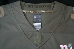 Camisa NFL New York Giants Odell Beckham Jr Nike Salute To Service Youth Limited Jersey Draft Store