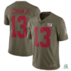 Camisa NFL New York Giants Odell Beckham Jr Nike Salute To Service Limited Jersey Draft Store