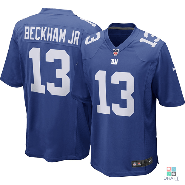 more photos 1e4c9 72b3a Camisa NFL Odell Beckham Jr New York Giants Nike Youth Game Jersey