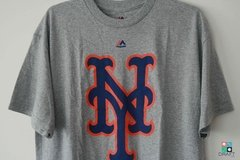 Camisa MLB New York Mets Majestic Primary Logo Draft Store
