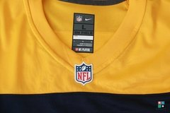 Camisa NFL Aaron Rodgers Green Bay Packers Nike Game Alternate Jersey - Draft Store