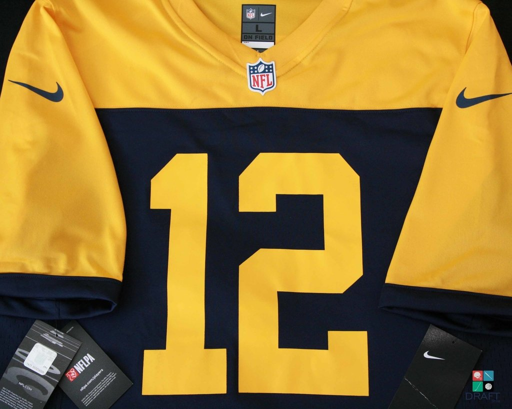 e20f25e42 NFL Rodgers Packers Nike Game Alternate Jersey Draft Store