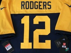 Camisa NFL Aaron Rodgers Green Bay Packers Nike Game Alternate Jersey