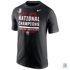 Camisa Nike College Football Florida State Seminoles (FSU) Champions Locker Room Draft Store