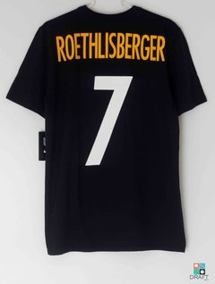 Camisa Nike NFL Pittsburgh Steelers Ben Roethlisberger (Big Ben) Draft Store