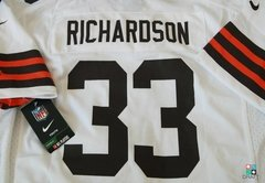 Camisa NFL Cleveland Browns Trent Richadson Nike Youth Game Jersey Draft Store