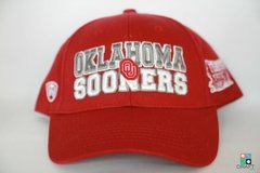 Boné College Oklahoma Sooners Top of the World NCAA Snapback Draft Store