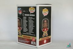 Boneco NFL Richard Sherman San Francisco 49ers Funko POP Figurine Draft Store