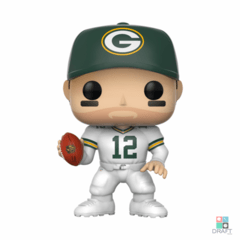 Boneco NFL Aaron Rodgers Green Bay Packers Funko POP Figurine Draft Store