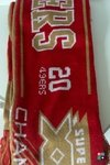Scarf Forever Collectibles NFL San Francisco 49ers Super Bowl XXIII (Cachecol) Draft Store
