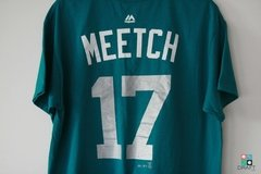 Camisa MLB Seattle Mariners Mitch Haniger Majestic Name & Number Draft Store
