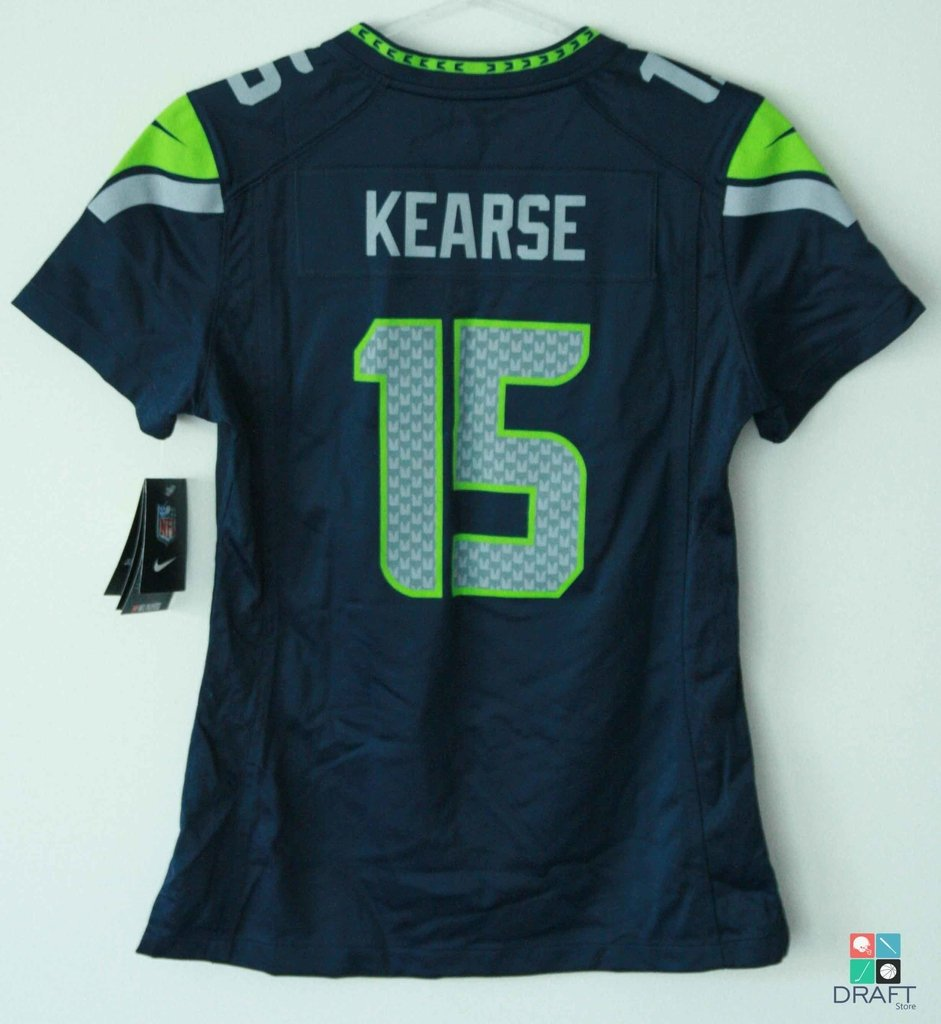 newest collection 2b54a 510c5 Camisa Feminina NFL Seattle Seahawks Jermaine Kearse Nike Game Jersey