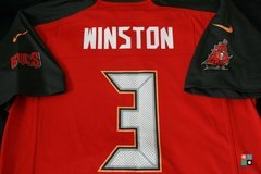 Camisa NFL Jameis Winston Tampa Bay Buccaneers Nike Youth Game Jersey