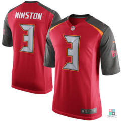 Camisa NFL Jameis Winston Tampa Bay Buccaneers Nike Youth Game Jersey Draft Store