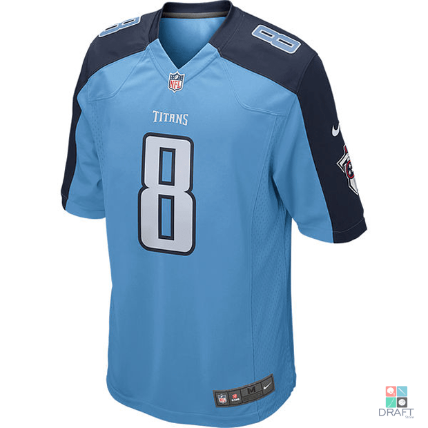 962224a14 Camisa NFL Tennessee Titans Marcus Mariota Nike Game Jersey