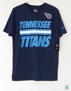 Tennessee Titans Nike NFL Men's Team Stripe T-Shirt Camisa
