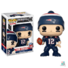 Boneco NFL Tom Brady New England Patriots Funko POP Figurine Draft Store