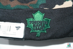 Gorro NHL Toronto Maple Leafs New Era Woodland Draft Store