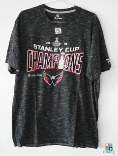 Camisa NHL Washington Capitals FANATICS Stanley Cup Champ Draft Store
