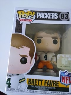 Boneco NFL Brett Favre Green Bay Packers Funko POP Figurine Draft Store
