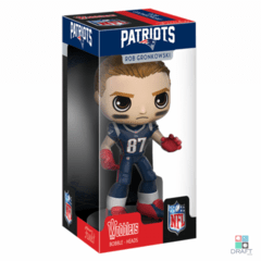 Boneco NFL Rob Gronkowski New England Patriots Funko Wobbler Action Figure Draft Store