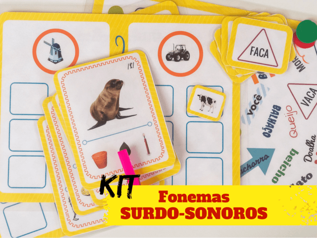 KIT SURDO-SONOROS