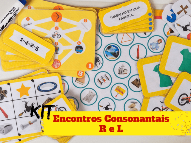 KIT ENCONTROS CONSONANTAIS